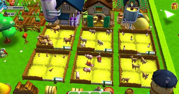 My Free Farm 2 Is A Free 2 Play Cute Cross Platform Browser Multiplayer Game Featuring Lots Of Cute Animals Fruitfu Mmo Games Multiplayer Games Games