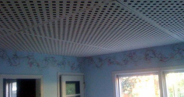 Lattice Ceiling For My Unfinished Basement Basement