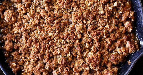 ... Amaretto Apple Crisp | Recipe | Apple Crisp, Skillets and Apples