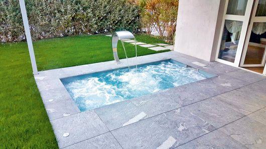 Minipool Geht Auch Auf Dem Dach Schwimmbad De Pool Fur Kleinen Garten Kleine Gartenpools Mini Pool