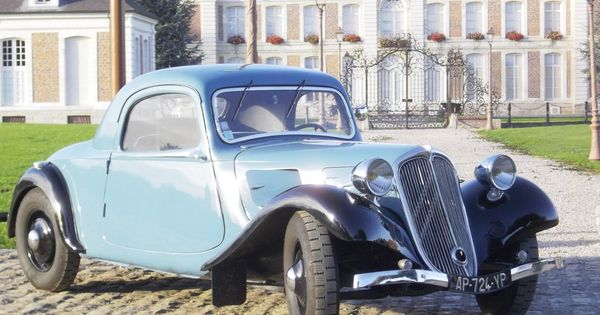 citro n traction avant coup 1934 autres vehicules. Black Bedroom Furniture Sets. Home Design Ideas