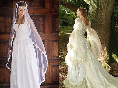 Wedding Dresses Celtic Wedding Dress Irish Wedding Dresses Renaissance Wedding Dresses