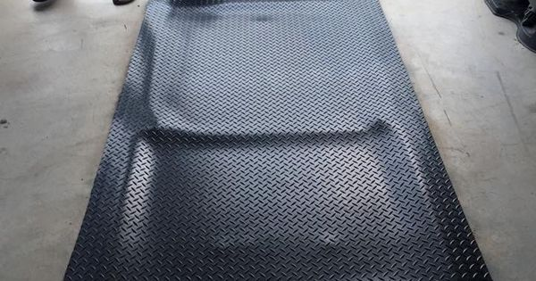 Tornado shelter cover. DIY. Industrial mat & magnetic seal ...