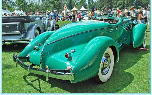 1936 Auburn Supercharged Boattail Speedster