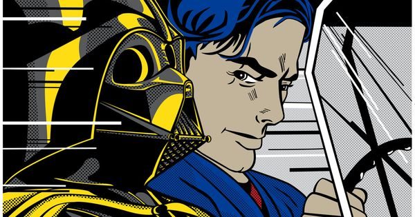 Super punch roy lichtenstein inspired star wars art - Roy lichtenstein obras ...