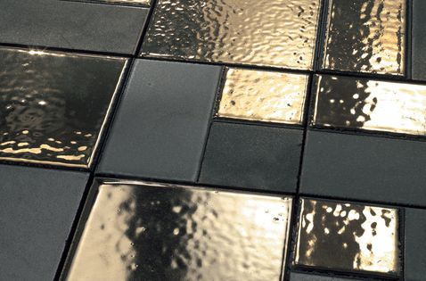 Ceramic flooring | Mosaici d'autore metal | Refin. Check it out on