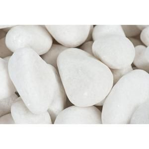 Rain Forest 3 In To 5 In 30 Lb Large Flat Egg Rock Caribbean Beach Pebbles Rfferl1 The Home De Mexican Beach Pebbles Landscaping With Rocks White Pebbles