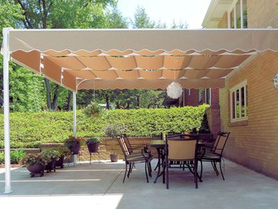 Residential Retractable Canopies And Shade Canopies Shadetree