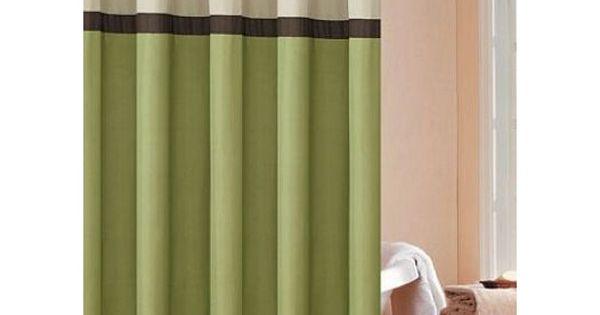 Dr international cosmopolitan shower curtain color sage