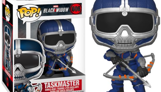 Pop Marvel Task Master W Bow 606 Black Widow Funko Pop Tiny Titan In 2020 Black Widow Funko Tiny Titans