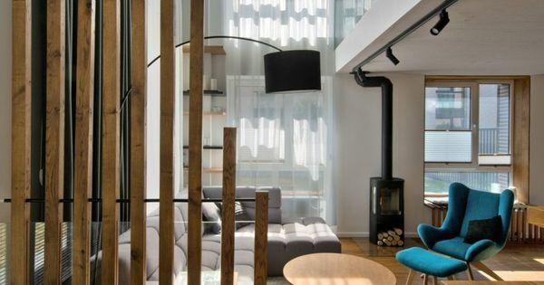 Cloison bois – une esthétique fonctionnelle à la maison  Design ...