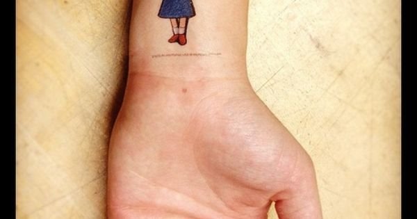 Amazing Tattoos Inspired by Children's Books