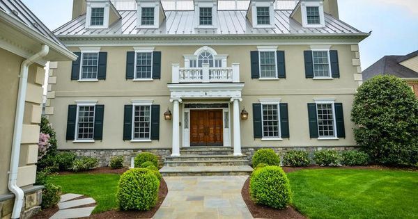 This Elegant Stone Colonial In Alexandria Va Is The
