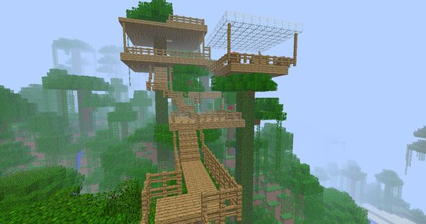i love the jungle biome now such a good idea minecraft
