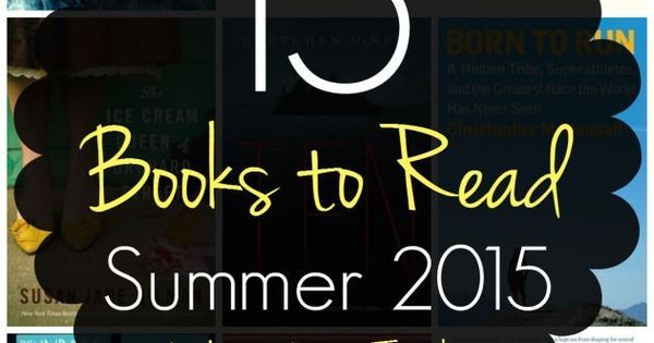 This list of 15 Books to Read this Summer has everything from