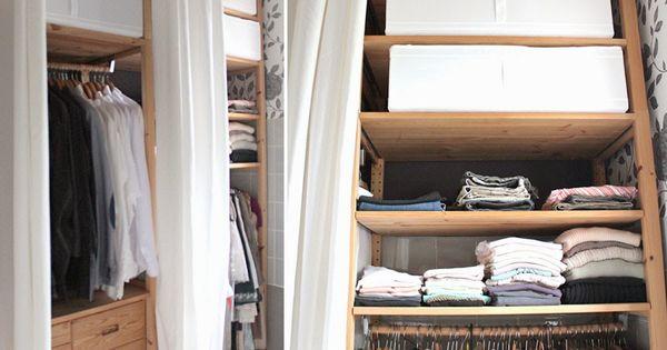 seidenfein 39 s dekoblog kleiderschrank aus ikea ivar renovieren pinterest ikea hack loft. Black Bedroom Furniture Sets. Home Design Ideas