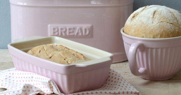 Broodtrommel ovaal roze ib laursen keuken servies puur mooi wonen shabby chic country - Roze keuken fuchsia ...
