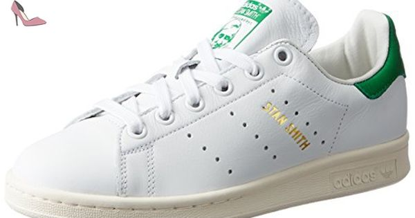 Adidas Stan Smith, Sneakers Basses Homme, Blanc (Footwear