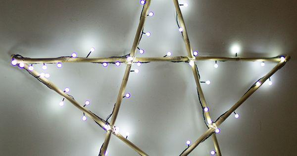 Diy haz tu estrella de navidad de luces con leroy merlin for Luces de navidad leroy merlin