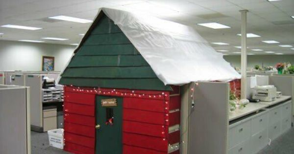 Christmas Cube Christmas Cubicle Decorations Office Christmas Decorations Cubicle Decor