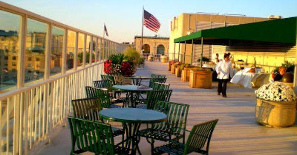 Venue Spotlight Old Ebbitt Grill Venues Rooftop Terrace Outdoor Decor
