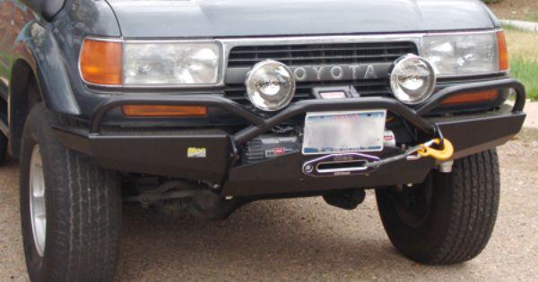 Toyota 80 Series Land Cruiser Shortbus Front Bumper Detail Land Cruiser Cruisers Toyota Land Cruiser