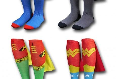 super hero socks!!! I need these for crazy sock day at school!
