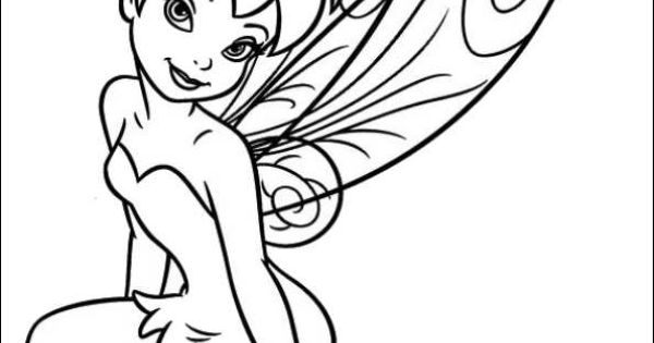 Kleurplaat Tinkelbel Secret Of The Wings Tinkerbell