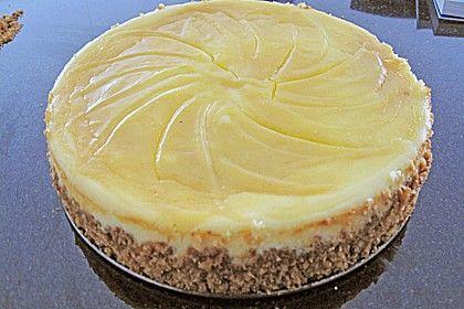Cheesecake Mit Lemon Curd Fullung Von Pinktroublebee Chefkoch