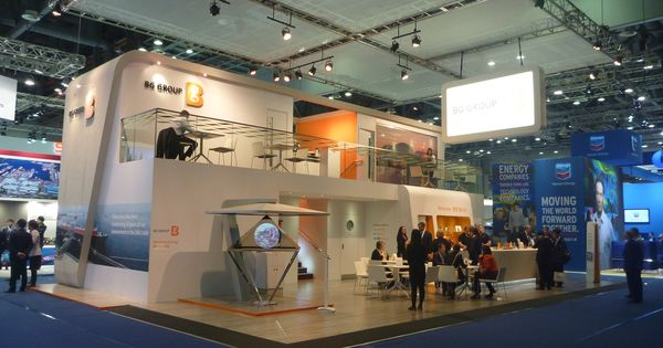 Exhibition Stand Design Competition : Bg group stand at gastech seoul south korea