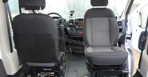 Passenger Seat Swivel Available For Ford Transit Shown On