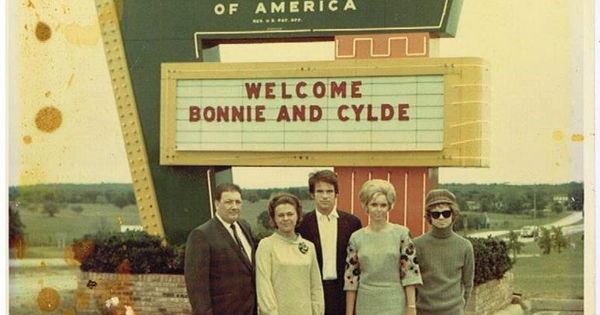 1967 Premier Of Bonnie And Clyde Holiday Inn Mgr Jim