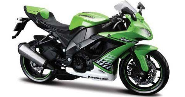 Replica Of Maisto 1 12 Kawasaki Zx 10r Kawasaki Ninja Ninja Motorcycle Kawasaki