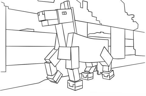 Minecraft Malvorlagen Kostenlos Ausmalbild Minecraft Pferd Ausmalbilder Kostenlos Zum Ausdrucken Free