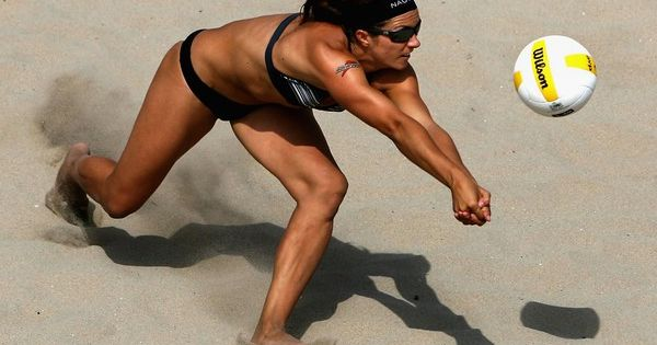 Probably the best Beach volleyball player ever!