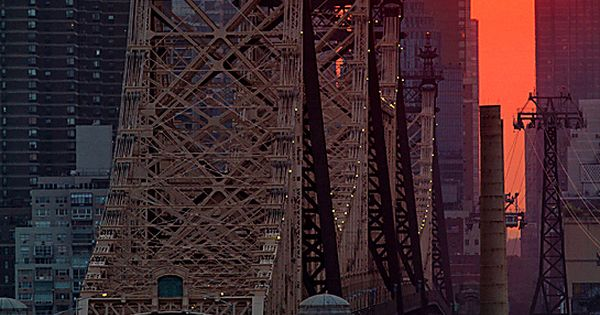 Manhattan / New York City, New York - The borough of Manhattan