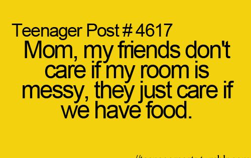 Teenager Posts - yep this is our house!!!