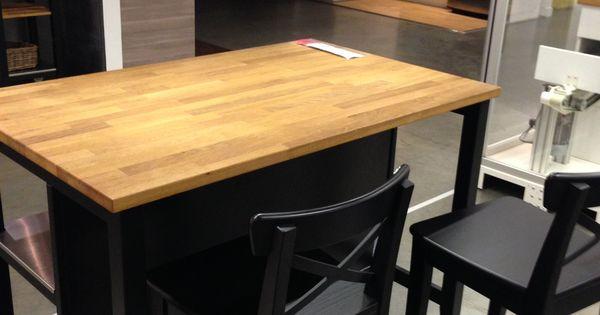 Ikea Stenstorp Kitchen Island Dark Oak Back Kitchen Island I Like This Because You Can Have