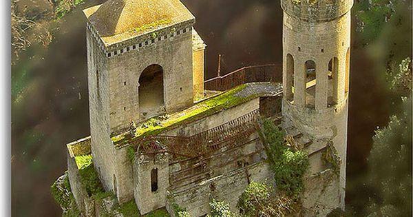 Primavera Barilla en Italia que lindos castillos en Erice Castle, Sicily, Italy