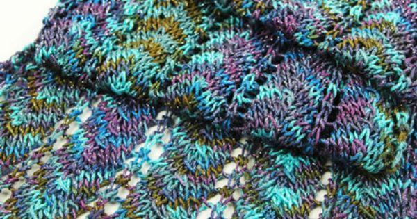 Chevron Scarf Pattern Knit : Simple Chevron Scarf pattern by Aimee Alexander Chevron scarves, Knitting a...