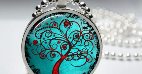 1in Circle Glass Bezel Pendant