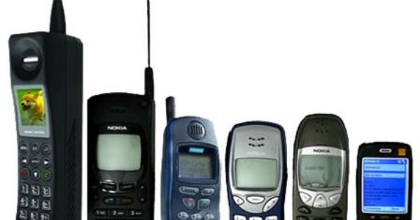 Crazy Evolution Of Mobile Phones With Images Cell Phone