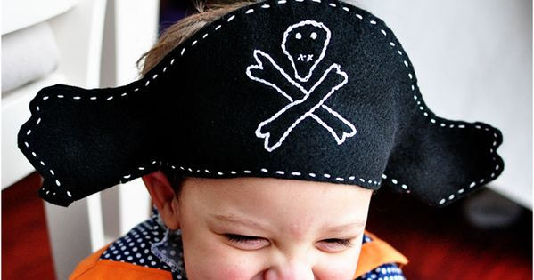A Felt Pirate Hat Pattern | Simple Simon and Company