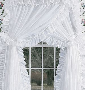 Priscilla Curtains For My Sewing Room Ideas For My