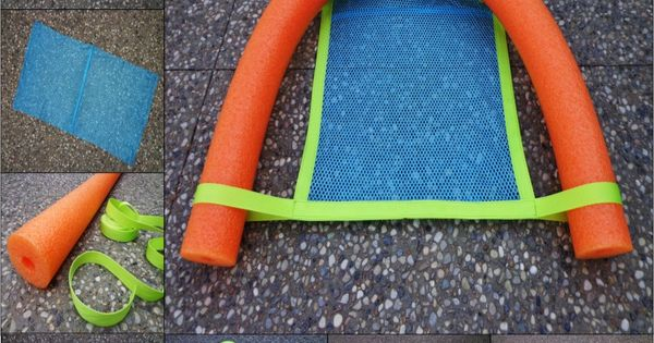 Pool Noodle Chair Instructions Use Your Noodle