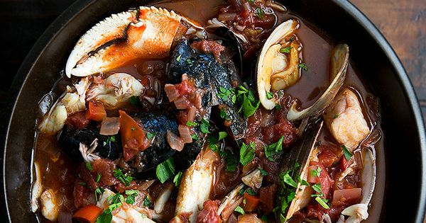 Fish stew, Sea bass and Halibut on Pinterest