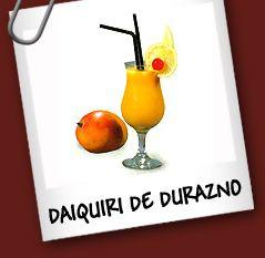 Daiquiri De Durazno Bebidas Y Tragos Recetas De Tragos Bebidas Y Cocteles Daiquiri Recetas De Tragos Tragos
