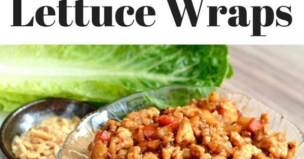 Gluten, Asian chicken lettuce wraps and Wraps on Pinterest