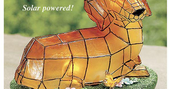Solar Mosaic Dachshund Yard Accent Art Books Pinterest
