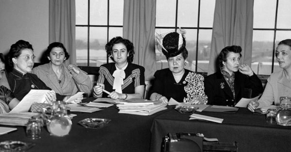 1946 Birth Of The Commission On The Status Of Women Commission On Human Rights Women Constitution